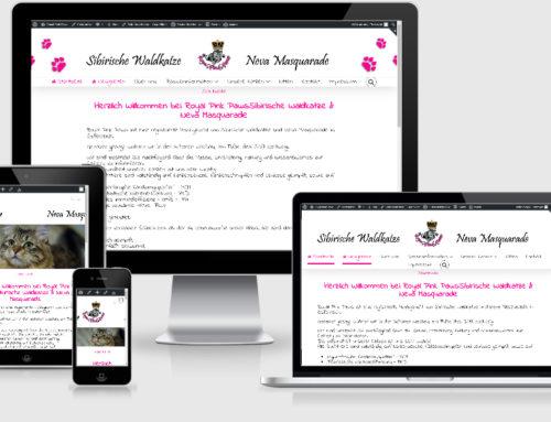 Unsere Homepage ist online!