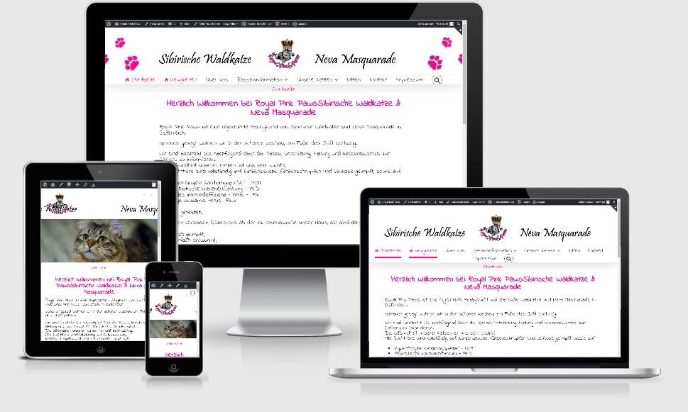 Homepage online!