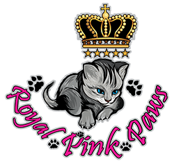 Royal Pink Paws Logo
